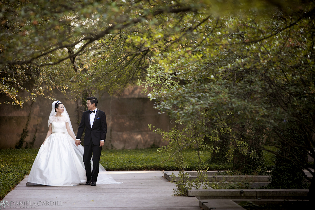Art Institute Garden Wedding photos