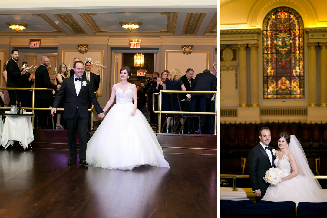 The Murphy Auditorium Wedding