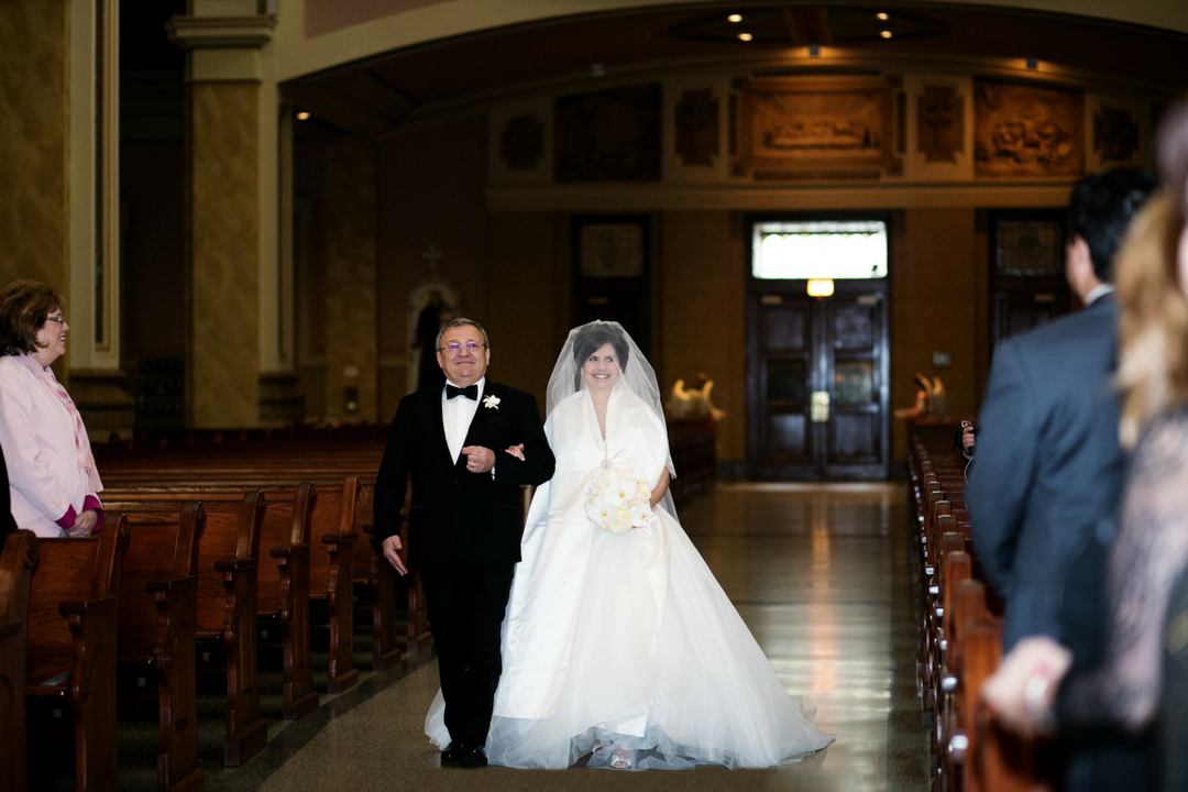 St Mary's of the Angels Wedding Chicago